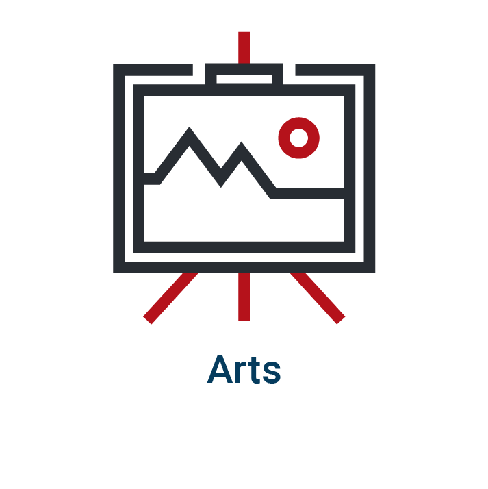 Arts homepage icon