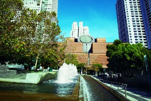Yerba Buena Gardens - photo by San Francisco Travel Association - Scott Chernis