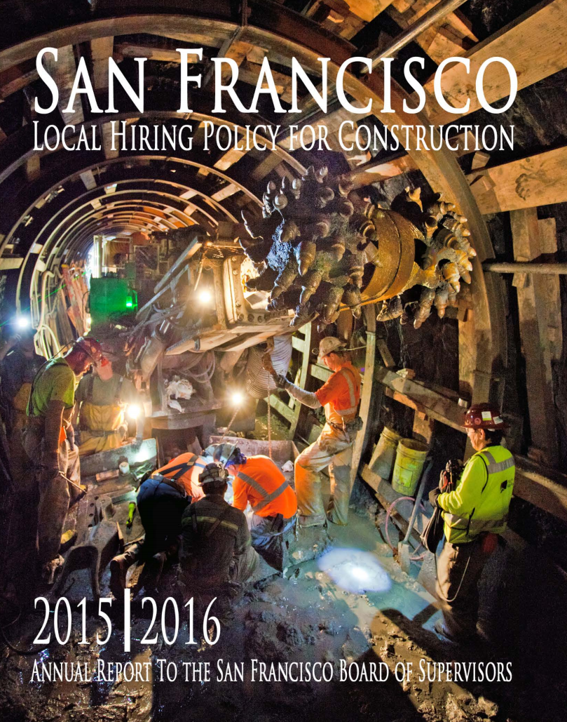 Local Hire Annual Report for FY2015-2016