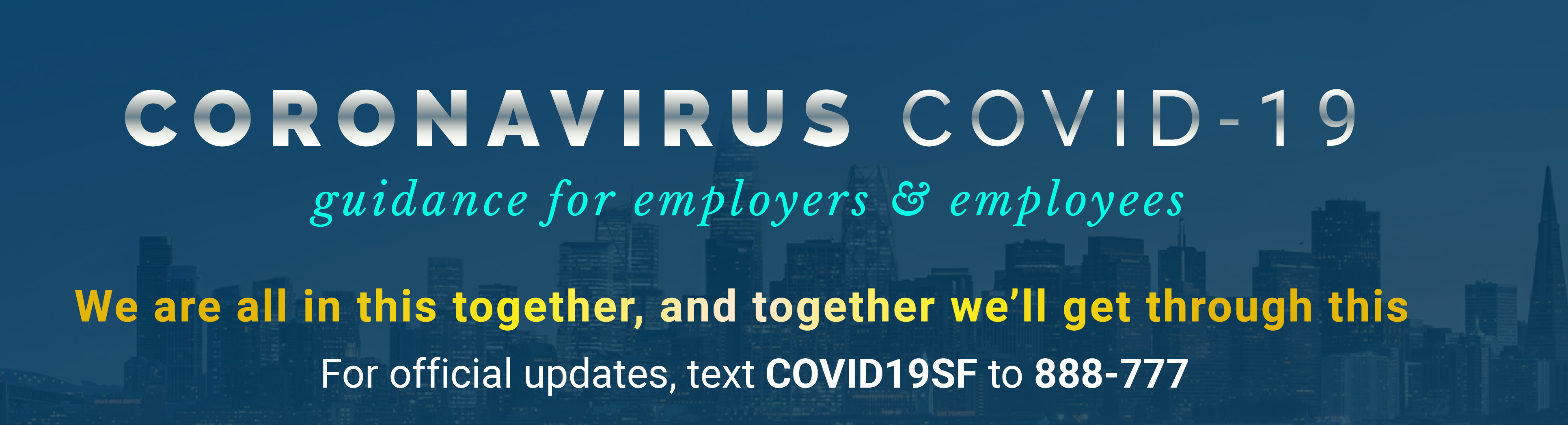COVID19 Guidance for Employers and Employees