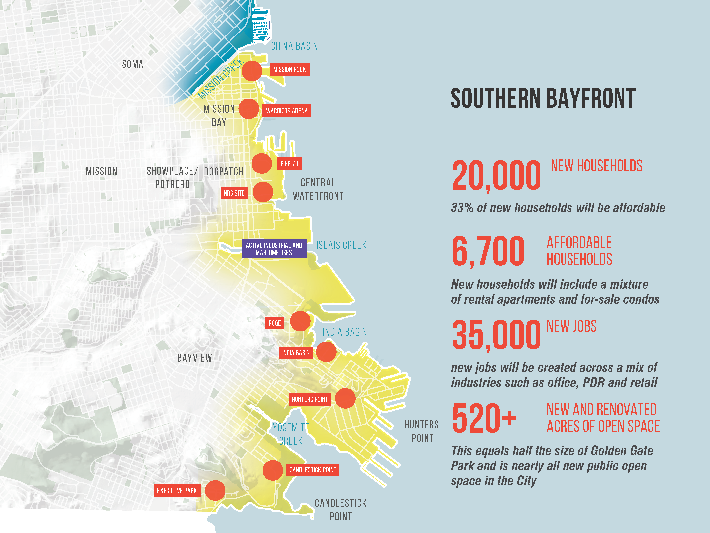 Pier 70 San Francisco Map.Southern Bayfront Office Of Economic And Workforce Development
