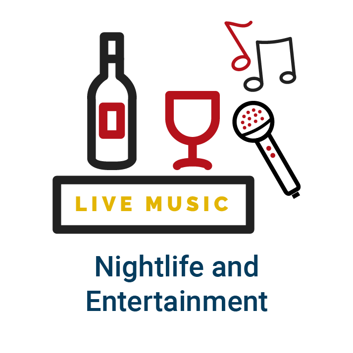 Nightlife & Entertainment homepage icon