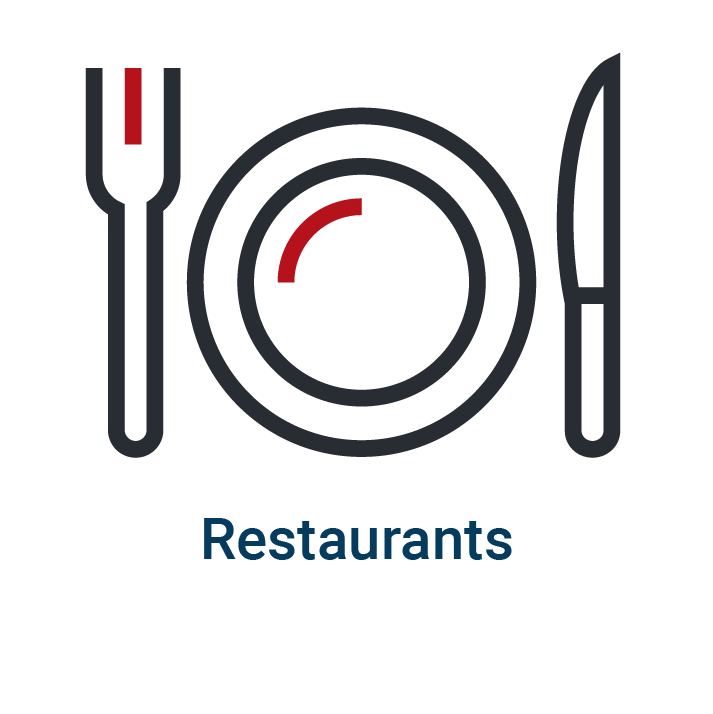Restaurants homepage icon