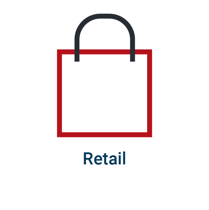 Retail homepage icon