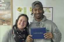 James, RAMP Participant, SFCC High School Graduate & Julia, SFCC/John Muir Charter School Teacher